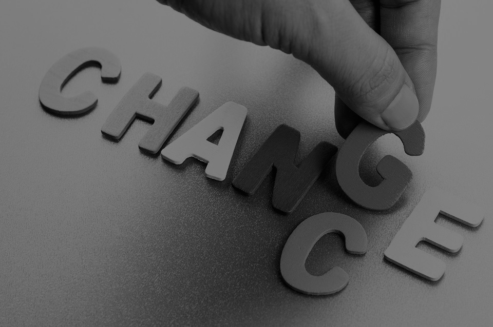 Transform chance into change
